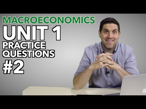 Macro Unit 1- Practice Questions #2