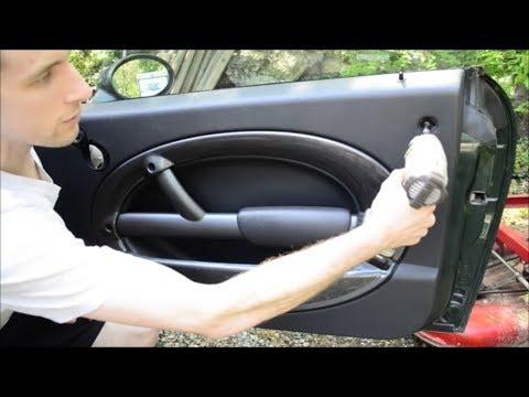 04 Mini Cooper Door Panel Removal Youtube