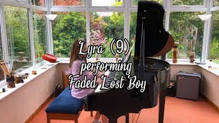 Lyra (9) performing Faded Lost Boy
