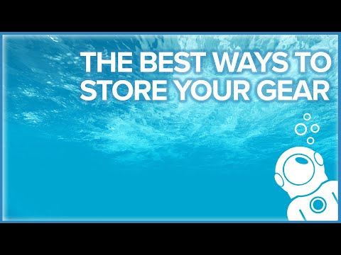 The Best Ways To Store Your Gear