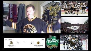 Bruins beat Blackhawks in 2019 Winter Classic  - Game 40