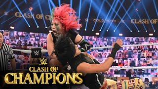 Asuka surprises Bayley with title challenge: WWE Clash of Champions 2020 (WWE Network Exclusive)