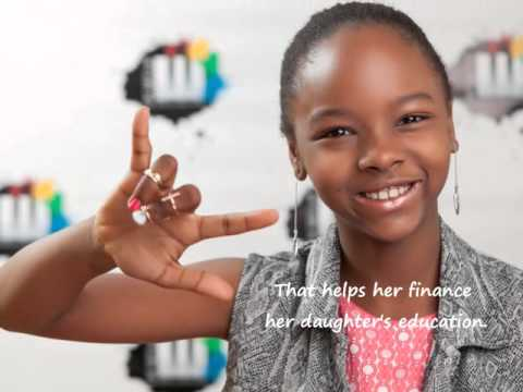 9-year-old SuperGirl Mabou Loiseau on the News in Germany - German TV