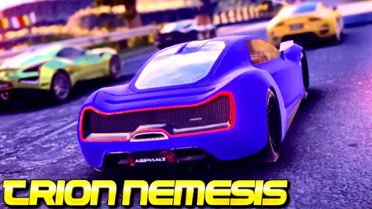 1st Slk Of Asphalt 9 Trion Nemesis 4 Rank 3868 Multiplayer
