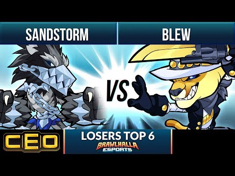 Sandstorm Vs Blew - Losers Top 6 - CEO 2019 1v1