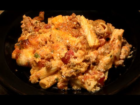 The Best BAKED ZITI Recipe EVER: Baked Ziti With Italian Sausage