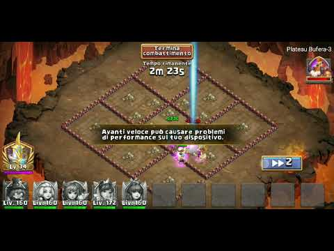 CASTLE CLASH STORM MESA-3 SOLO [NO EVOLVED HEROES]