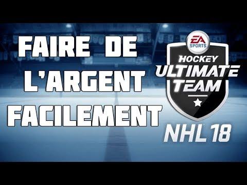 NHL 18 HUT: FAIRE DE L'ARGENT FACILE!   (QC,FR)