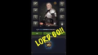 Clash Of Kings - Lord Level 60 Update!