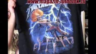 Редкие футболки Metallica