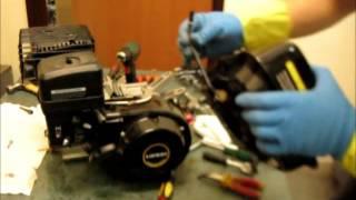 Ремонт двигуна мотоблока , розбирання для заміни коленвала