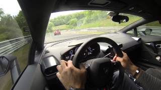 Lamborghini Huracan full lap on Nurburgring