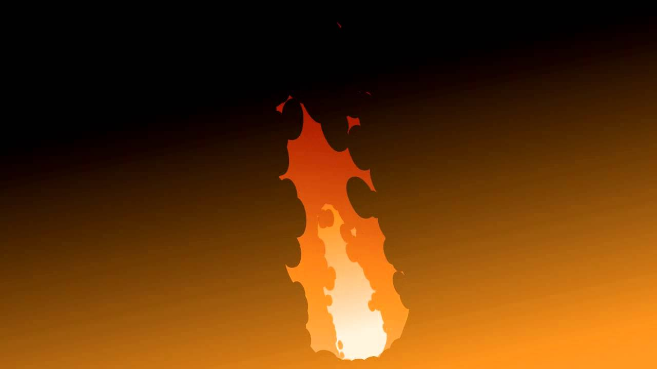 Flame / Fire Effect in Anime Studio - YouTube
