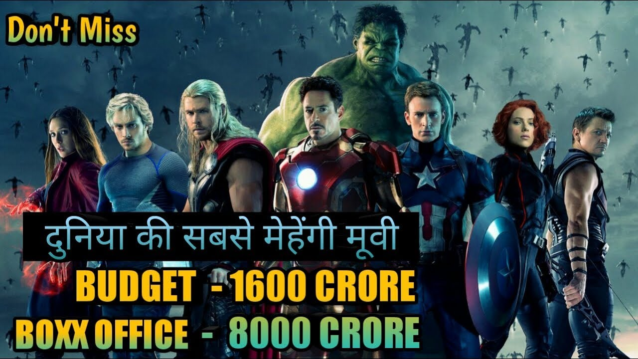 biggest hit of hollywood super hero movies box office