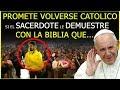 Cristiano en el Templo Promete Volverse Católico si el ...