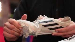 New adizero crazylight 99 gram hands on / review lightest football boots ever!