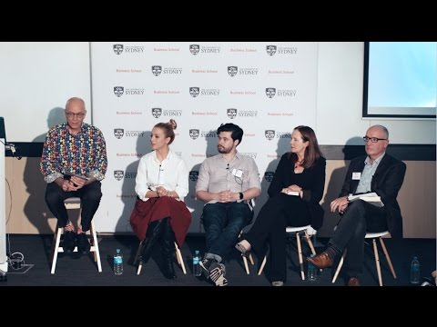 DISRUPT.SYDNEY 2016 Blockchain Panel