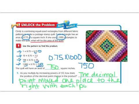 Lesson 4.1 - Go Math 5th Grade - YouTube