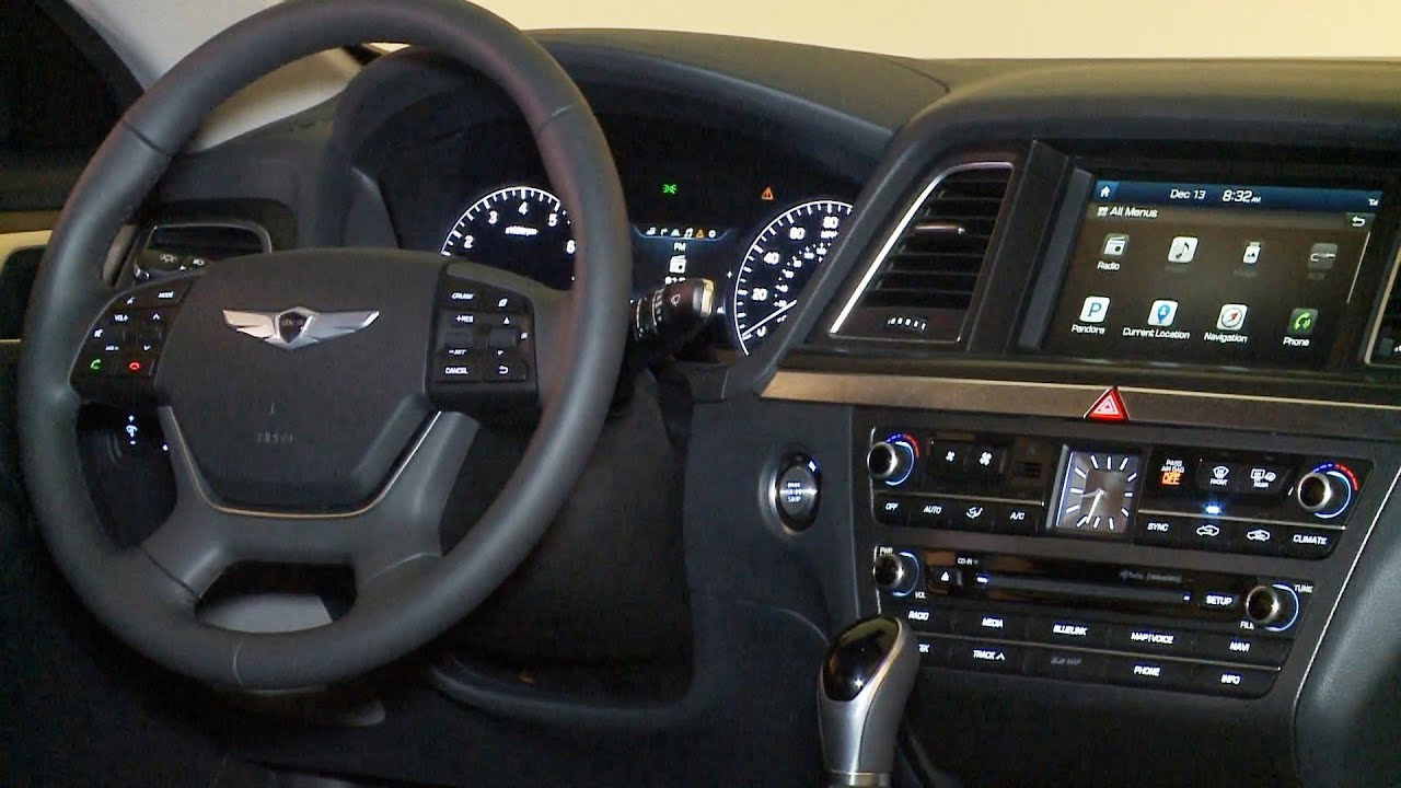Hyundai Genesis (2015) INTERIOR   YouTube