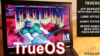 TrueOS (FreeBSD) tested on real hardware ThinkPad T410
