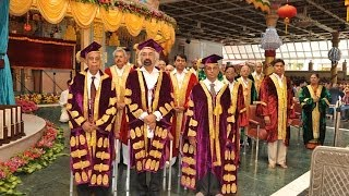 XXXII Convocation of Sri Sathya Sai Institute of Higher Learning - 22 Nov 2013
