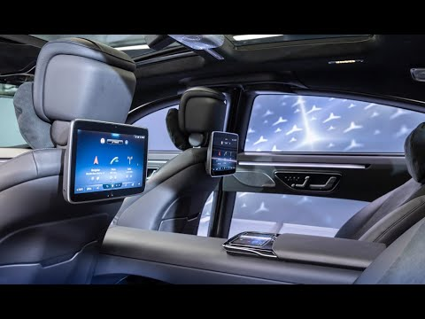 New 2021 Mercedes S Class Digital Revealed Most High Tech Car In The World My Mbux Youtube