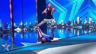 ¡Interpretan BELLA CIAO mientras hacen ACROYOGA! | Audiciones 5 | Got Talent España 5 (2019)