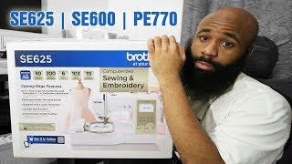 Gambar cover Brother SE625 Embroidery Machine | vs SE600 & PE770