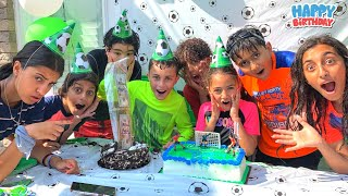 Zidane 11th Happy Birthday Pool Party with Family and Friends!!!