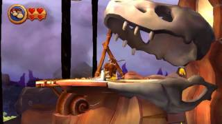 Wii Longplay [010] Donkey Kong Country Returns (World 6 of 8)