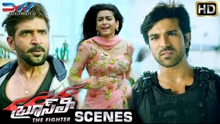 Ram Charan Saves Kriti Kharbanda | Bruce Lee The Fighter Telugu Movie | Rakul Preet | Ali