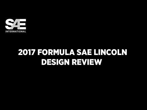 Formula SAE Lincoln 2017 Design Review