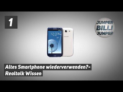 RealtalkWissen #001: 10 Dinge, die man mit seinem alten Smartphone noch machen kann