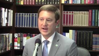 N.C. state budget director Andrew Heath addresses 'Carolina Comeback'