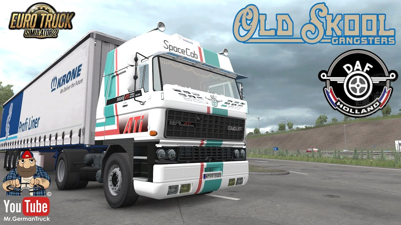 [ETS2 v1.37] DAF F241 series by XBS v1.3 *FMod & Open WIndow ready*