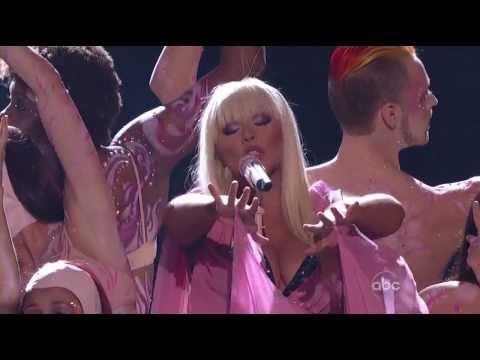 Christina Aguilera - Lotus Medley American Music Awards 2012