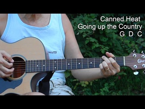 How to Play Going up the Country - Canned Heat - L120