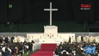 Podróż Franciszka do Japonii: Msza Święta na stadionie Tokyo Dome