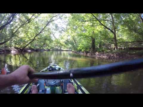 GLEN C HILTON PARK - 3 WATERS BIG FISH 120 - KAYAK BASS FISHING - LAKE HICKORY NC