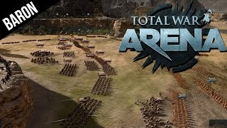 Total War Arena The Hot Gates - This is Sparta!