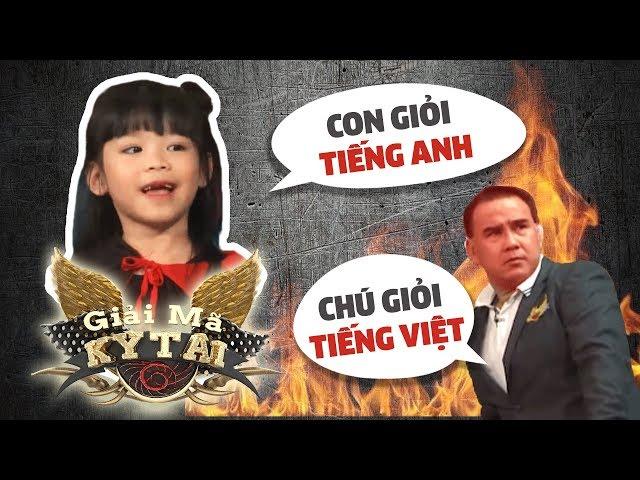 Thần đồng 5 tuổi bé Minh Anh 'troll' MC Quyền Linh với giọng nói tiếng Anh cực kỳ dễ thương 😚
