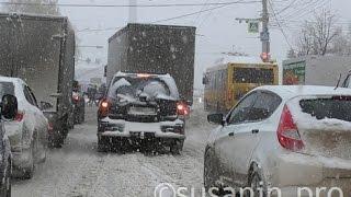 Ноябрьский снегопад в Ижевске