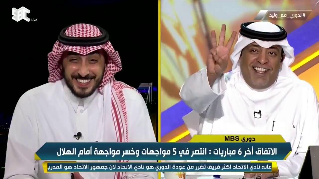 محمد الدهش: نبارك للاتفاق الفوز،الفيحاء عانا كثيرًا بسبب غياب المهاجم،خالد العطوي قدم مباراة كبيرة.