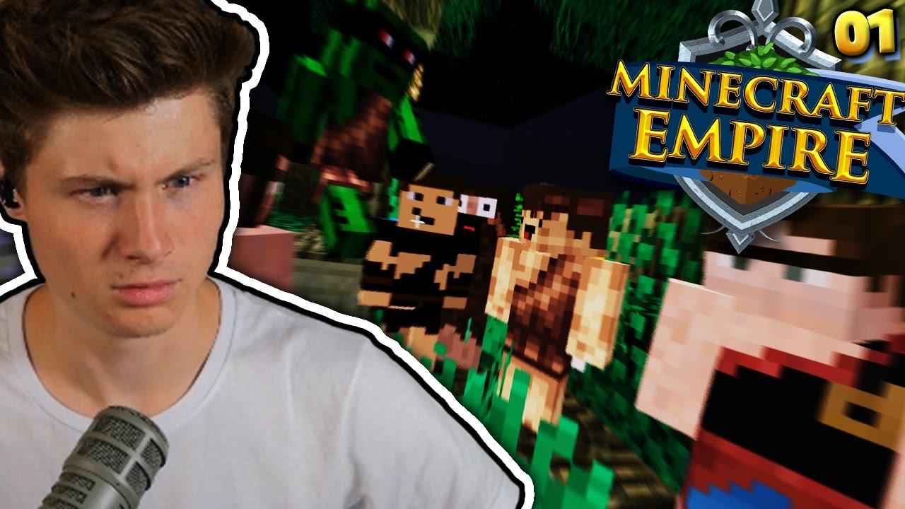 CRAFT ATTACK IN DER STEINZEIT Minecraft EMPIRE Dner YouTube - Minecraft empire spielen