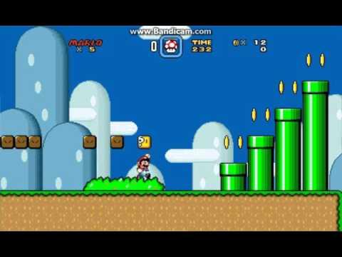 Tilengine Super Mario Clone WIP2