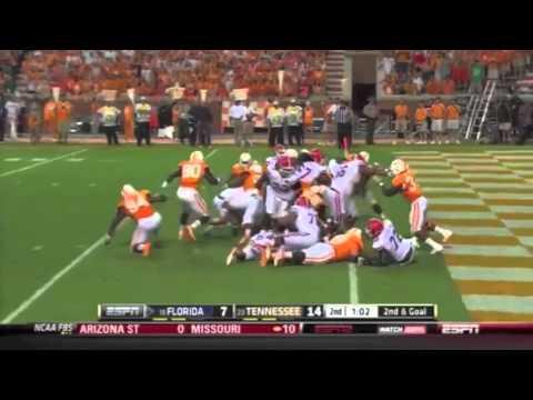 2012 #18 Florida Gators vs. #23 Tennessee Volunteers