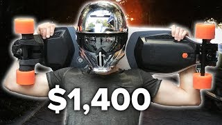 $1,400 Electric Skateboard