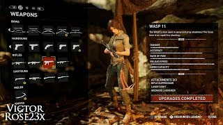 Shadow of the Tomb Raider ➢ All 23 Weapons & Outfits Showcase [Xbox]