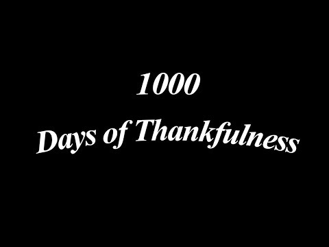 1000 Days of Thankfulness: Day 75 - God's Grace