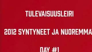 Juniori-Ässät - Tulevaisuusleiri (2012 syntyneet ja nuoremmat) Day #1